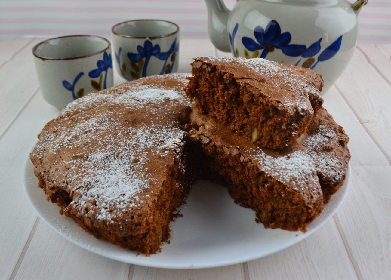 Torta noci e cioccolato - La gaia cucina di Patty