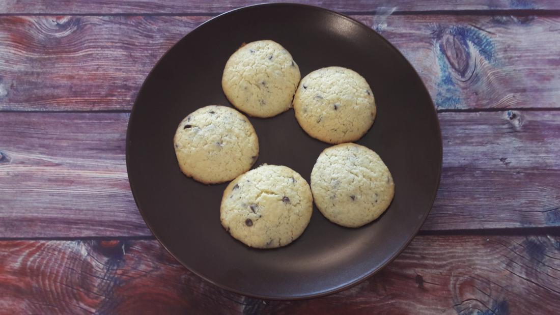 Cookies con gocce di cioccolato - La gaia cucina di Patty