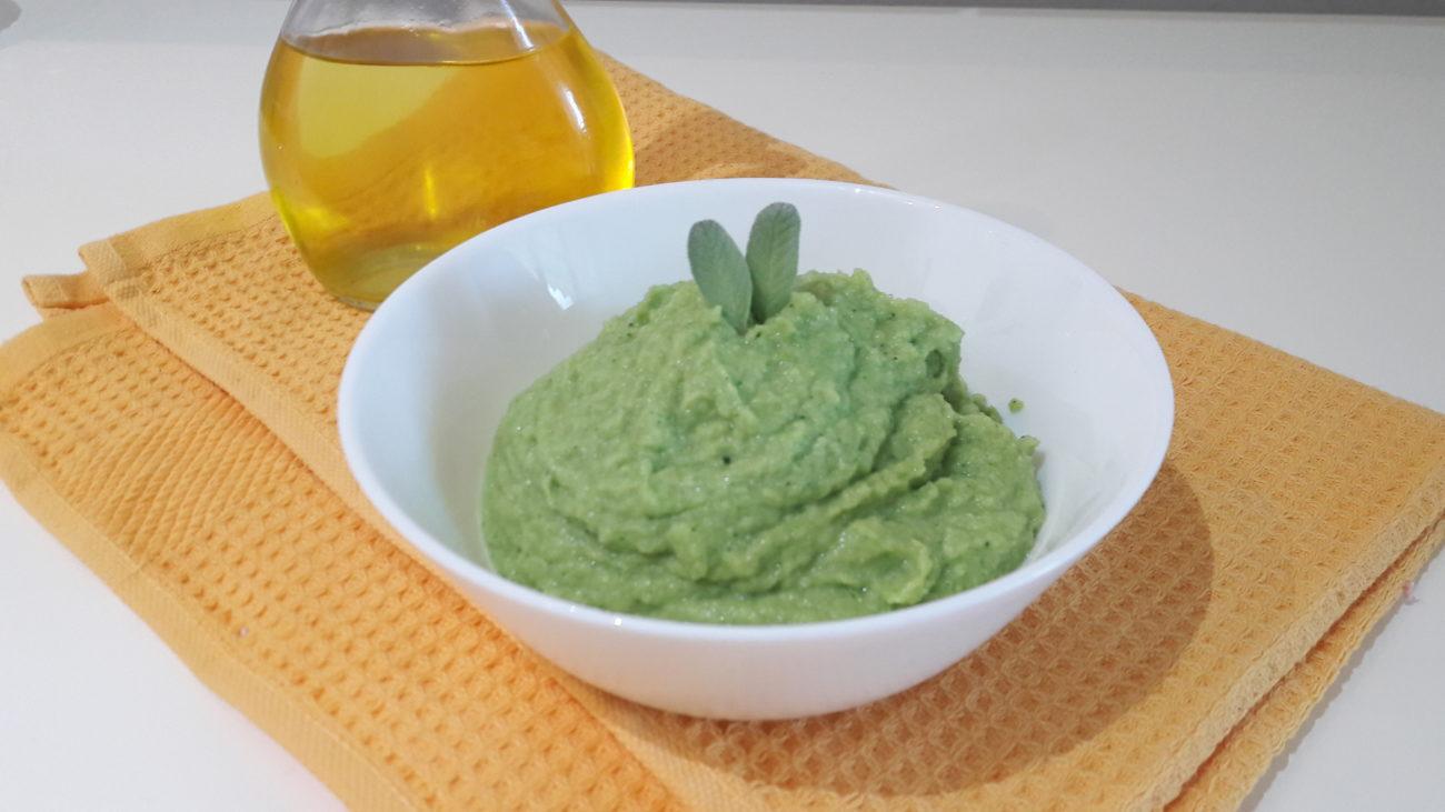 Pesto di gambo di broccoli