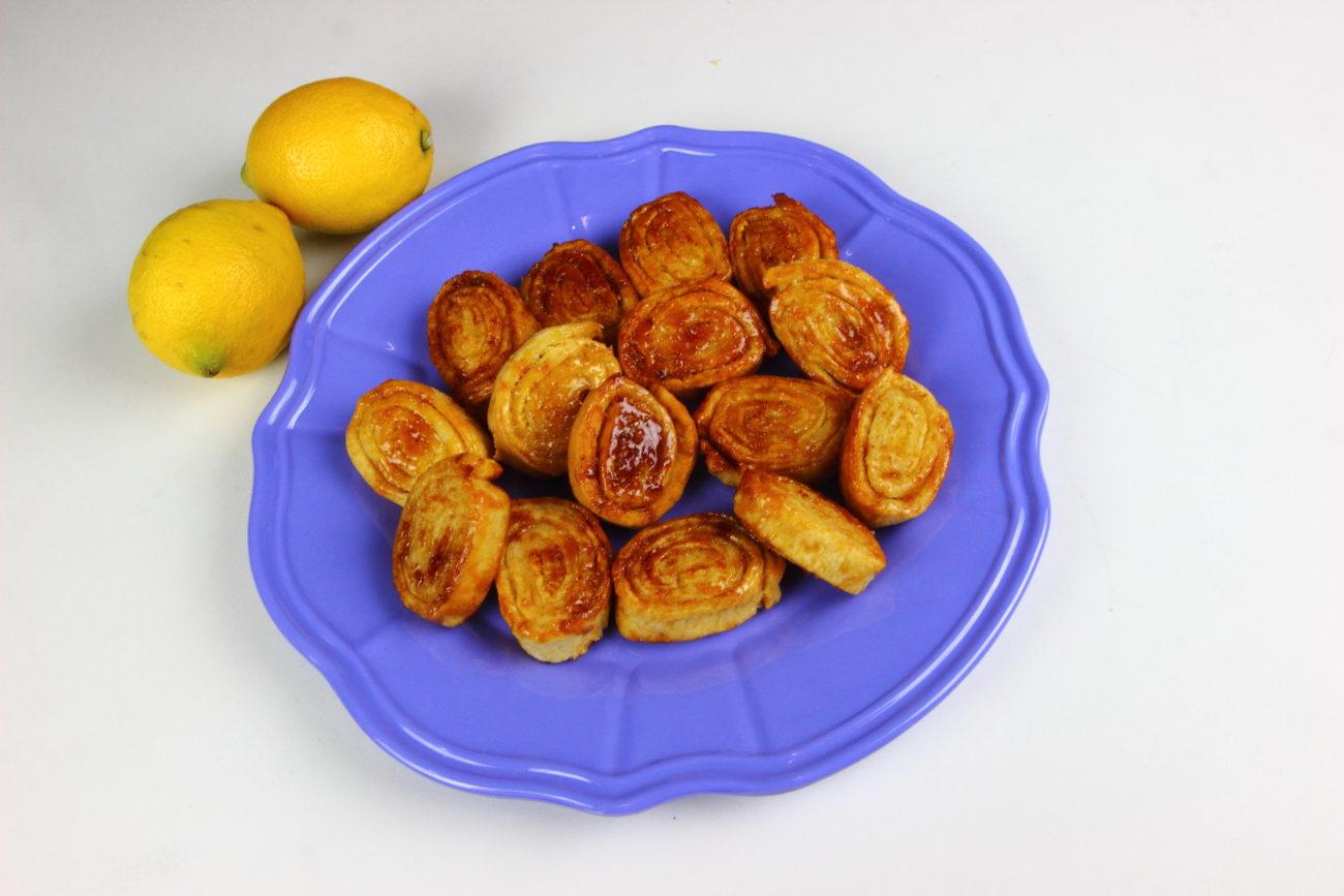 Tagliatelle dolci al limone