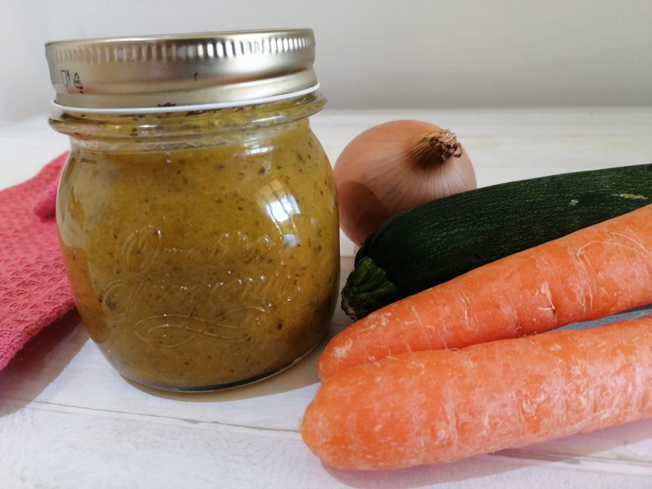 Dado vegetale da congelare